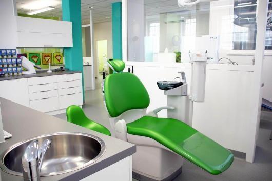 Zubařské křešlo ve Světě rovnátek