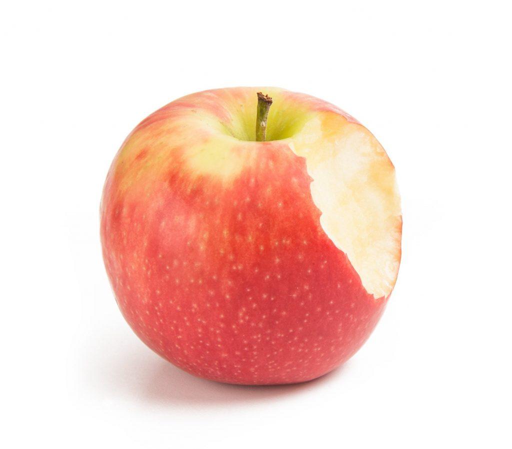 Nakousnuté jablko