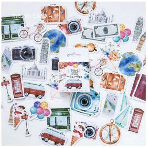Samolepky s motivem cestování